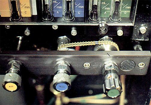 Anesthesia Gas Machine Fail Safe Flowmeters Hypoxic Guard