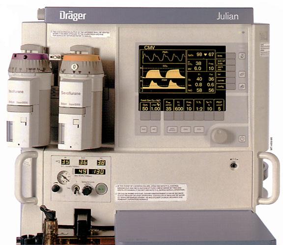 Anesthesia Gas Machine- Vaporizers