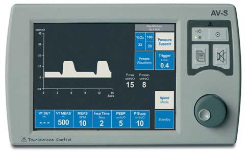 ventilator machine settings