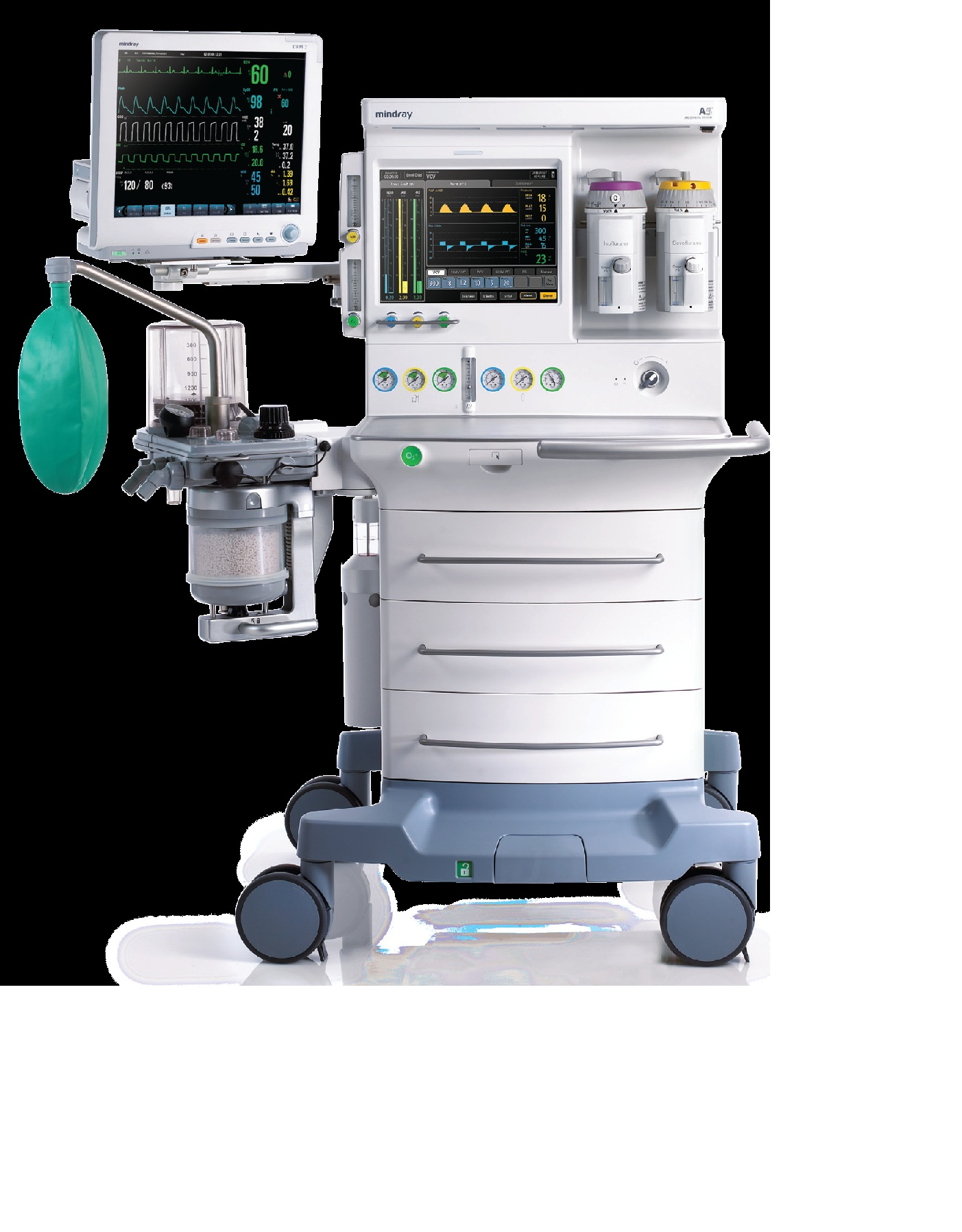 Anesthesia Gas Machine Models Colorsensorcircuit Light Sensor Circuitclick For Next Circuit Mindray A5